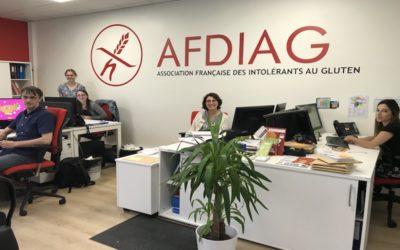 Quelles sont les activités de l'Association Française Des Intolérants Au Gluten?