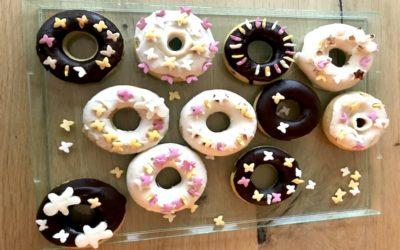 Donuts sans gluten et sans lait